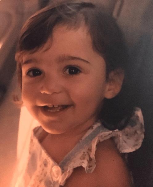 Jenni Alpert as a baby