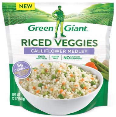 Green Giant Riced Cauliflower
