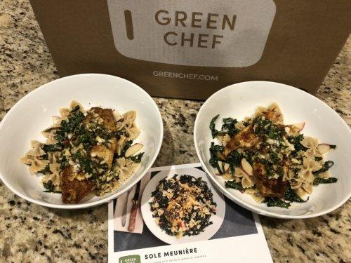 Green Chef sole meunière