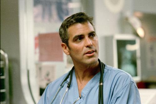 George Clooney as Doug Ross on 'ER'
