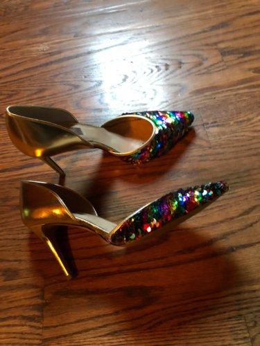 Mayim's bar mitzvah heels