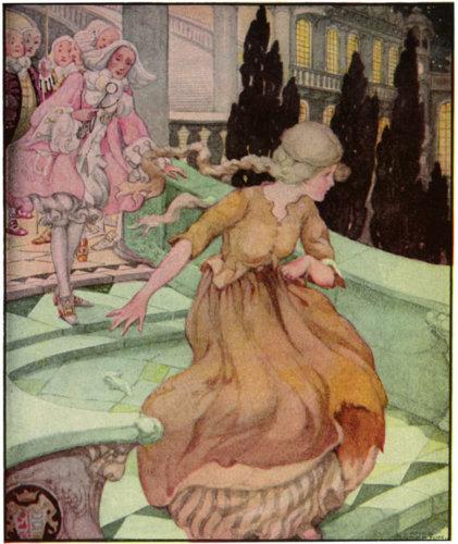 Cinderella illustration by Anne Anderson