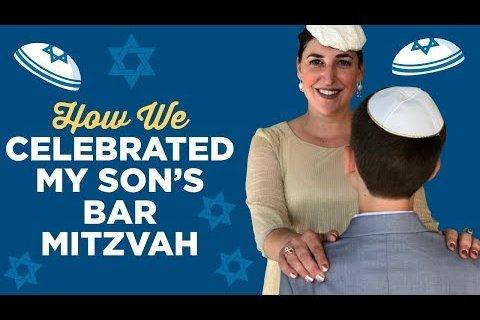Celebrating my son's Bar Mitzvah